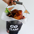 Our Fun Bucket Wings ready to Go!