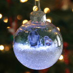 Star Wars the Force Awakens holiday ornament