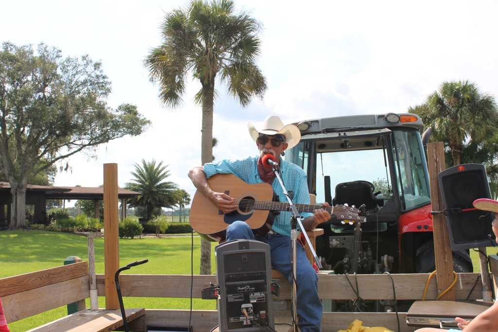 Hay ride with live music at Westgate River Ranch