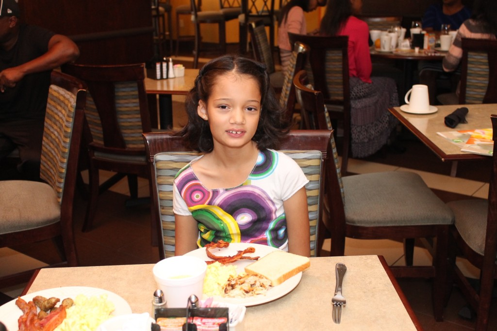 Holiday Inn kids eat free and stay free
