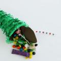 piñata christmas tree ornament
