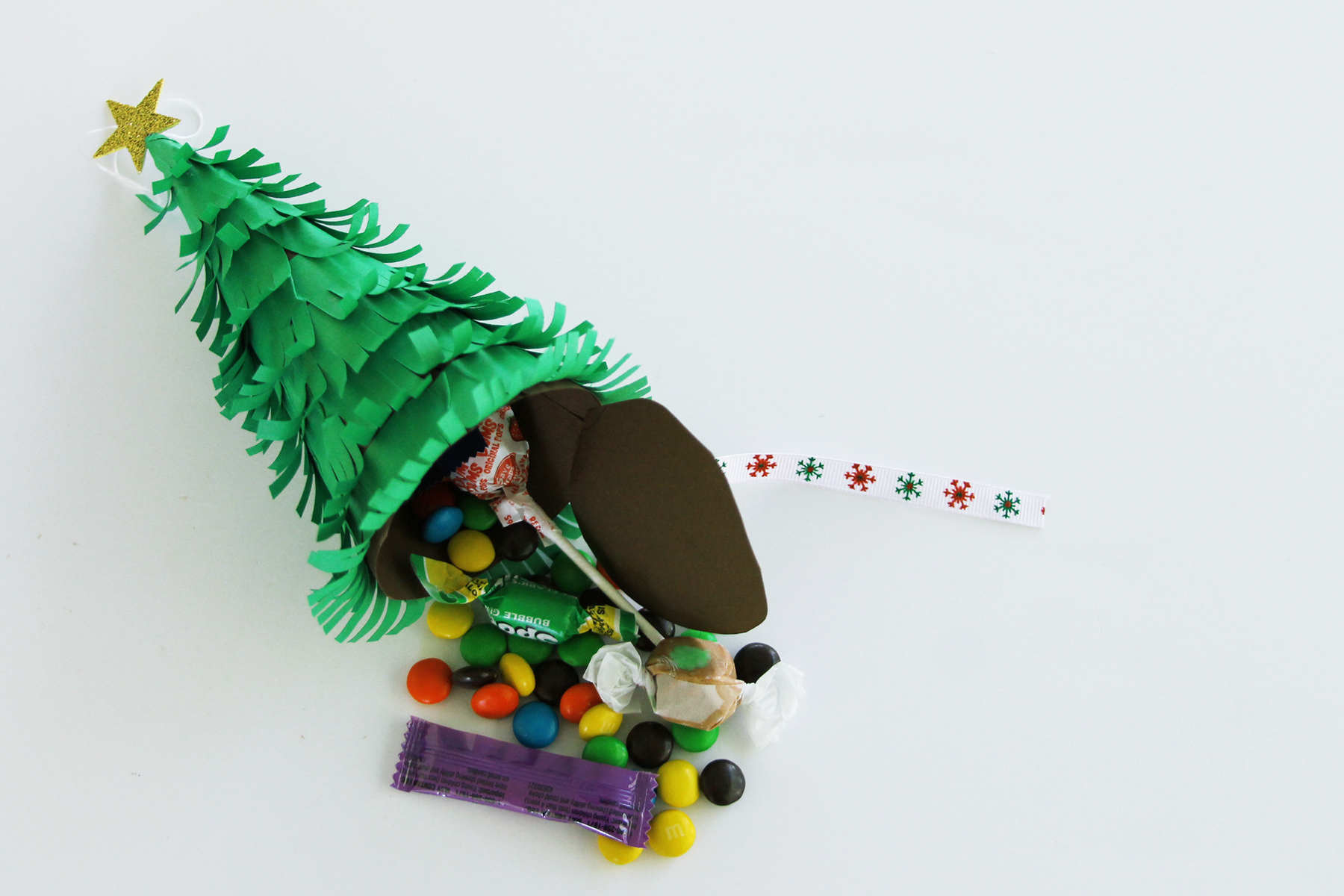 Wonderful Christmas Tree Pinata Part - 6: Growing Up Bilingual