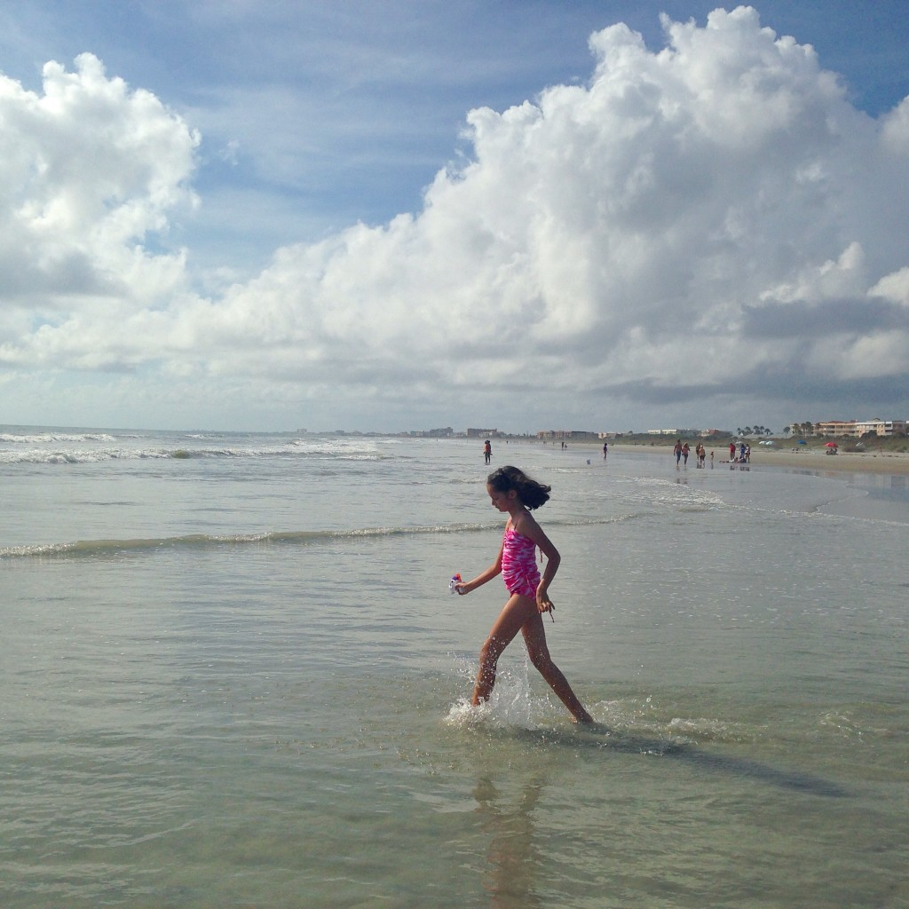 Jetty Beach in Florida's Space Coast