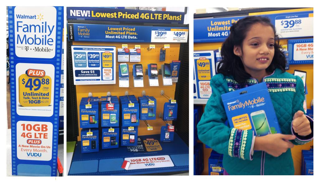Buying Mobile Plan at Walmart