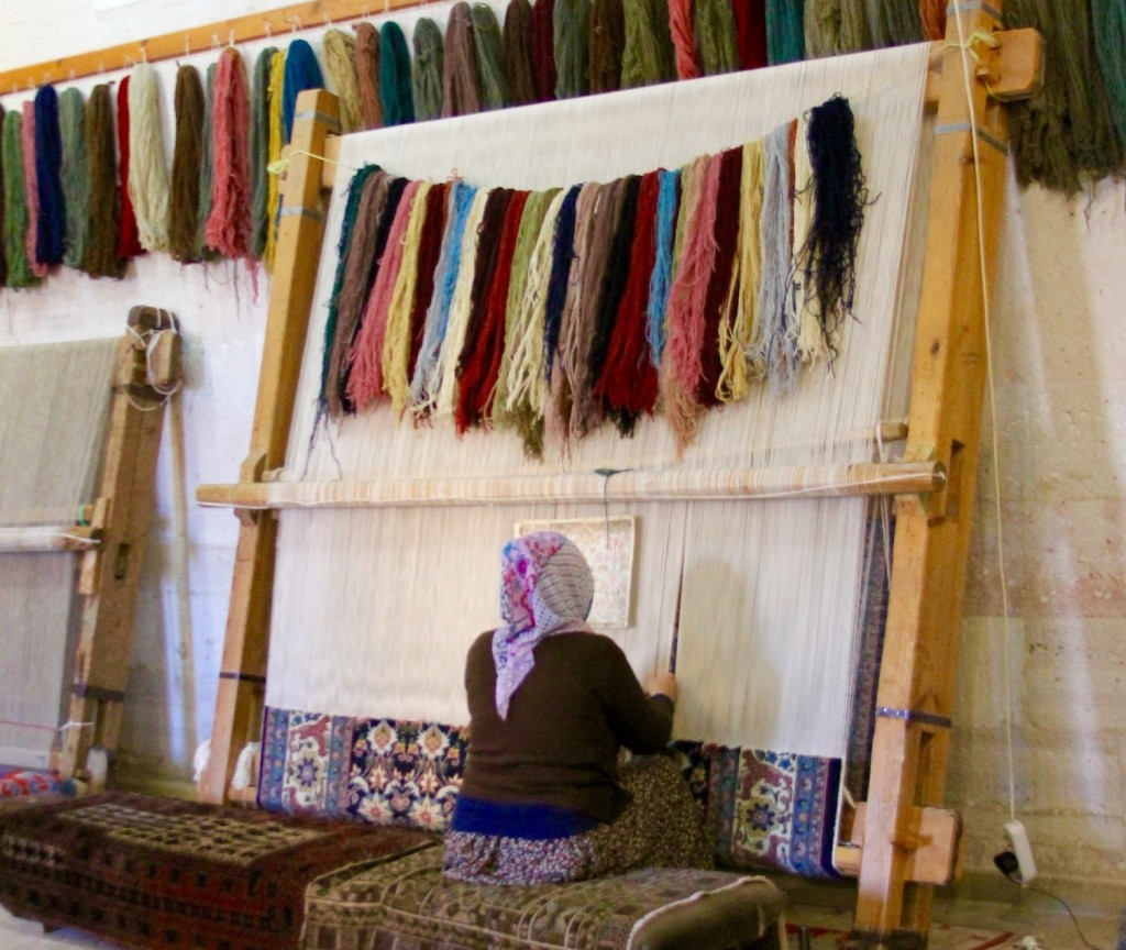 Rug cooperative in Cappaocia