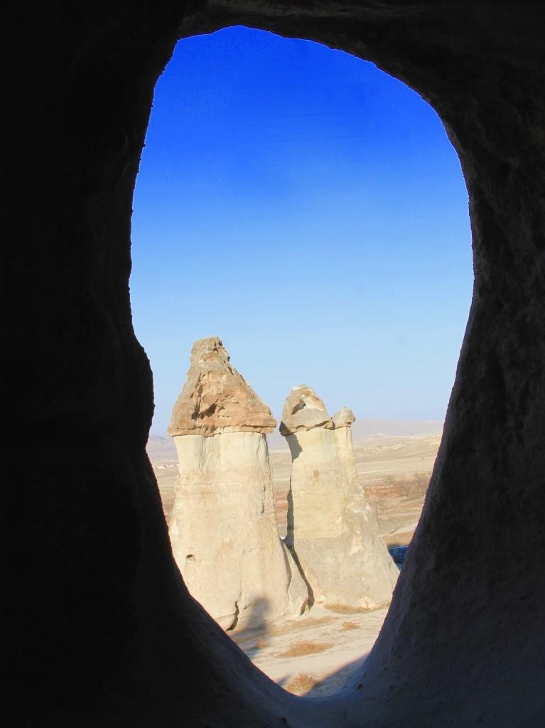 Pasabag fairy chimneys in Cappadocia