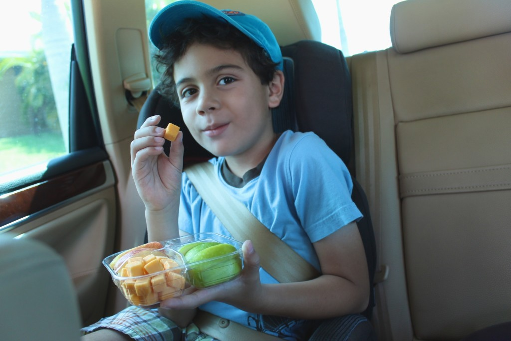 Snacks on road trip