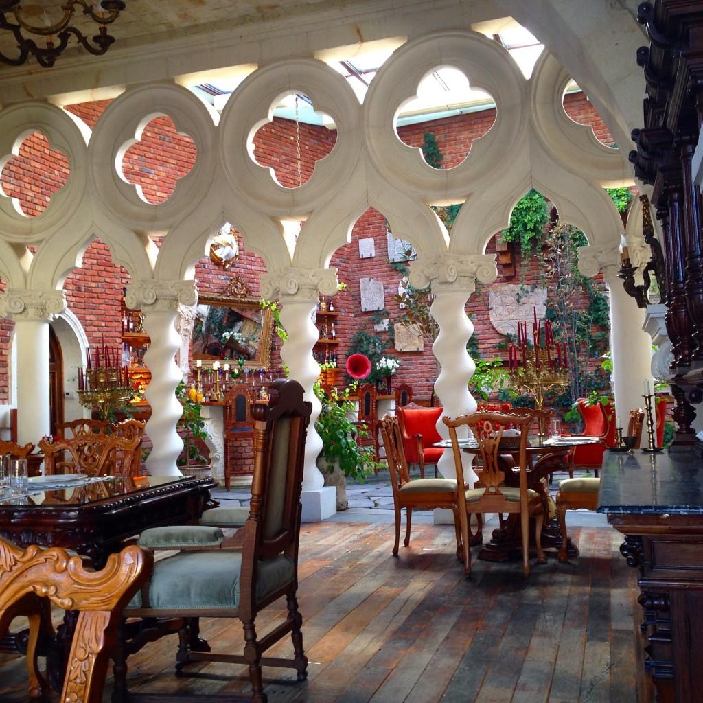 Sacred House Hotel's restaurant.