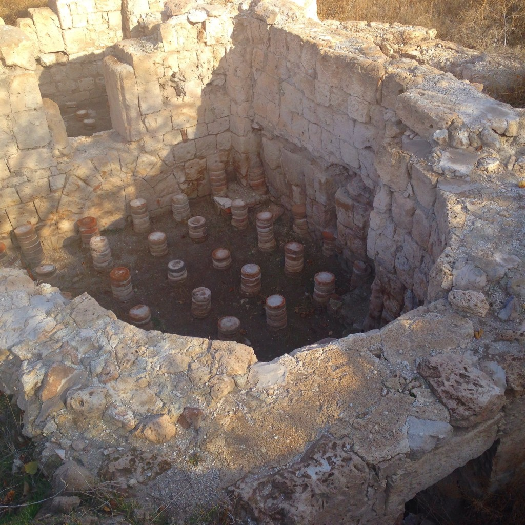 Sobessus Roman ruins excavations in Cappadocia