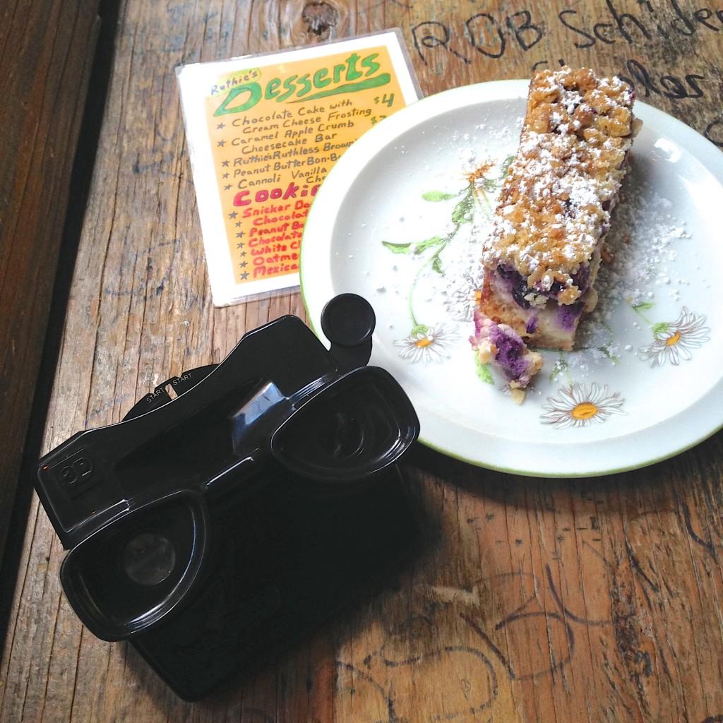 Dessert at Satchel's Pizza