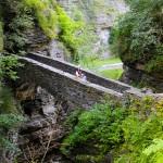 Watkins Glen State Park stone bridge