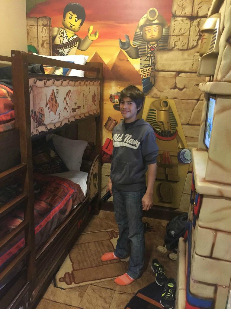 Legoland-Hotel-California-Habitacion-Niños-Adventure-Egipto