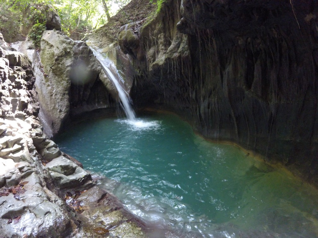 27 Charcos de Damajagua or the 27 Damajagua Cascades in Puerto Plata, Dominican Republic