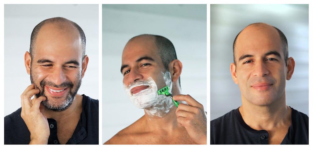 Three Steps shaving
