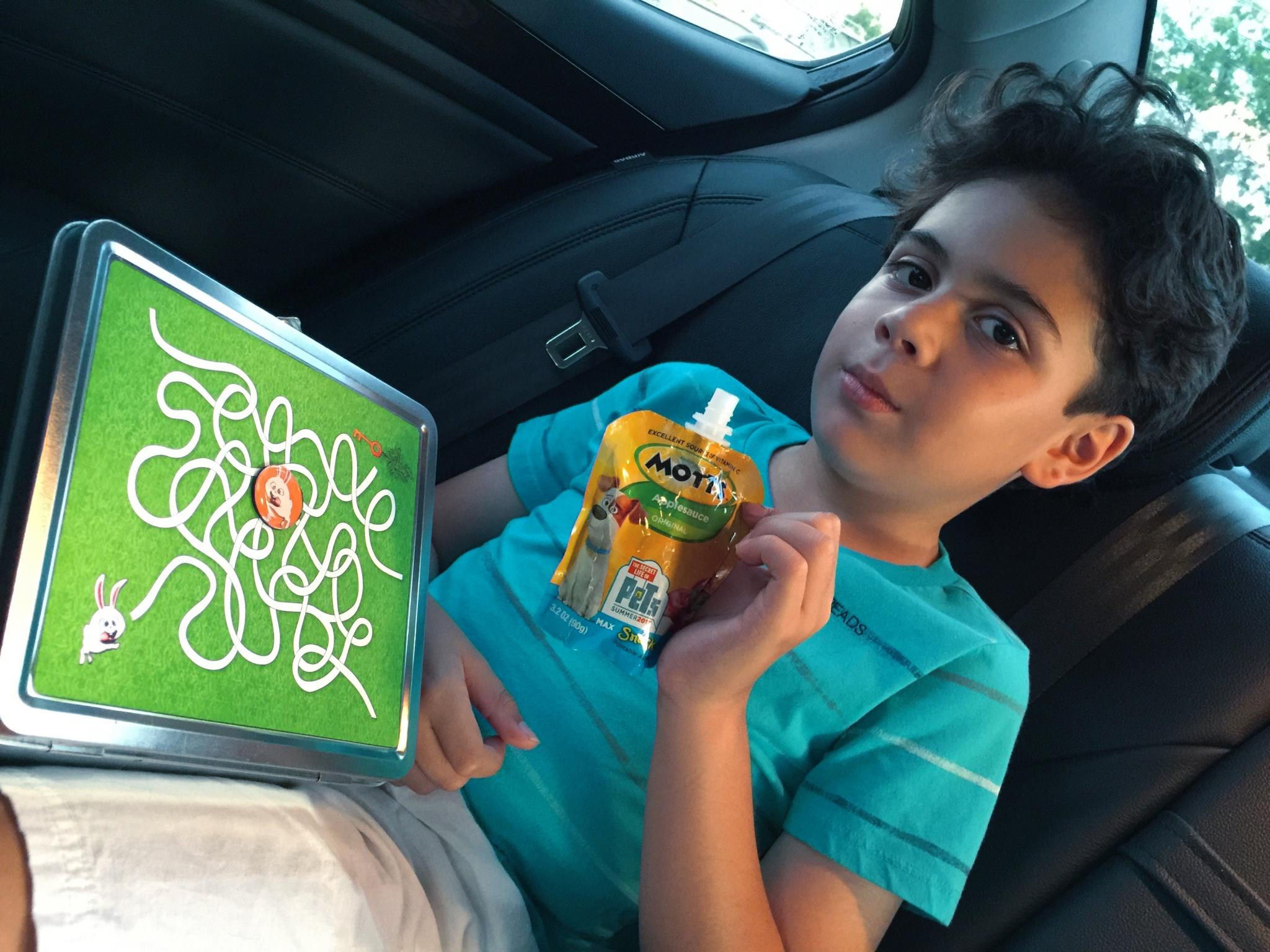 kid with printable maze