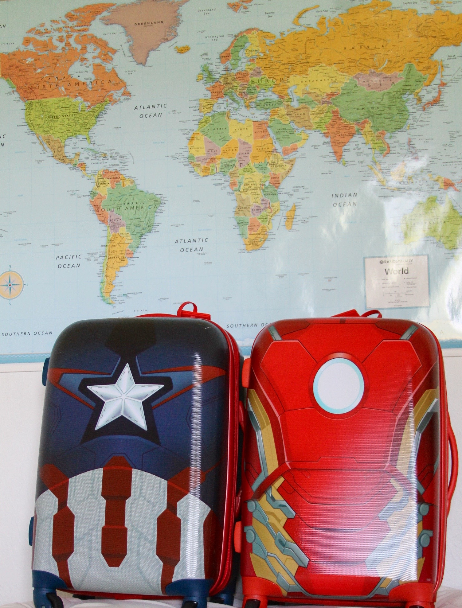 American Tourister Marvel superheroes luggage