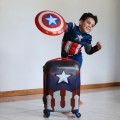 American Tourister captain America luggage