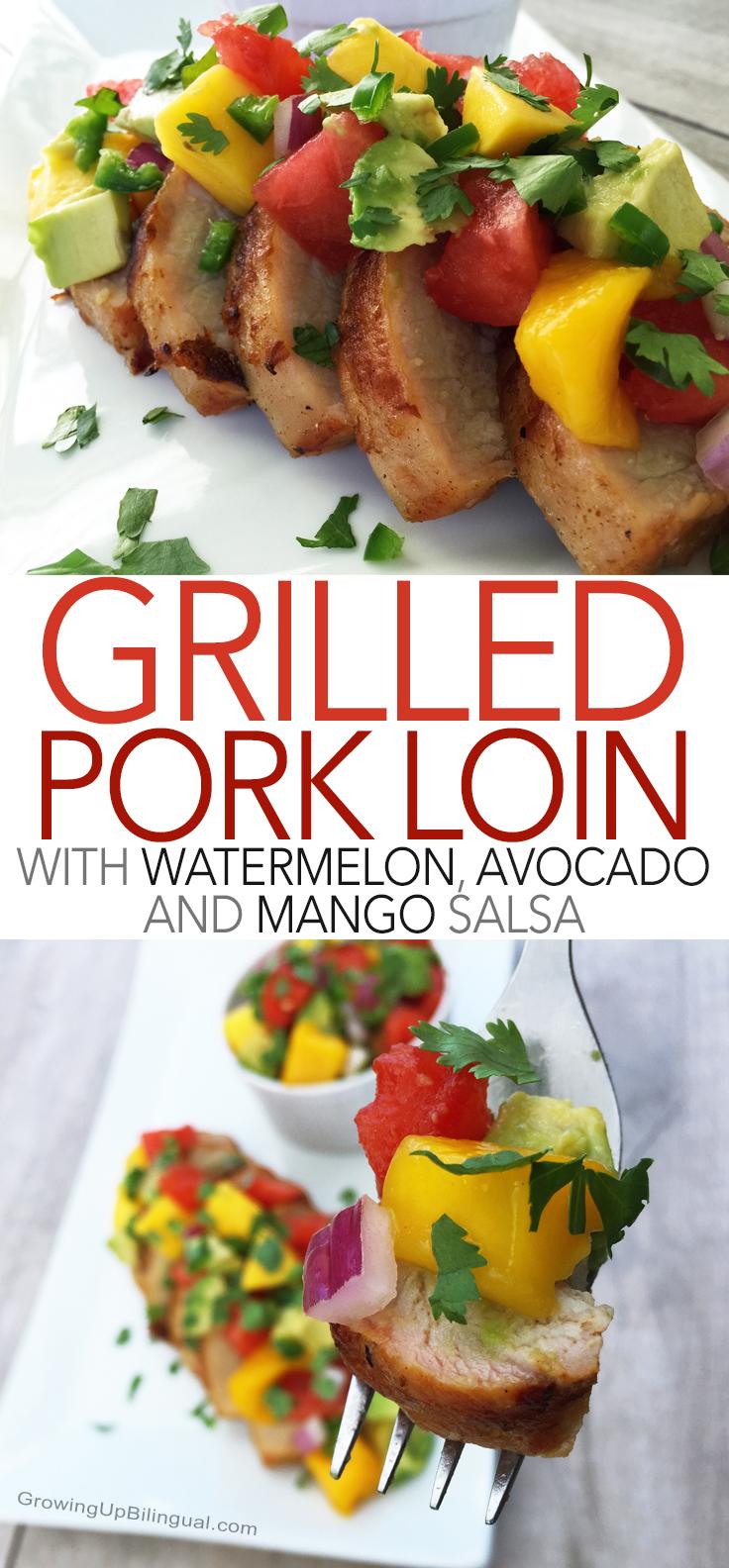 Grilled pork Pinterest