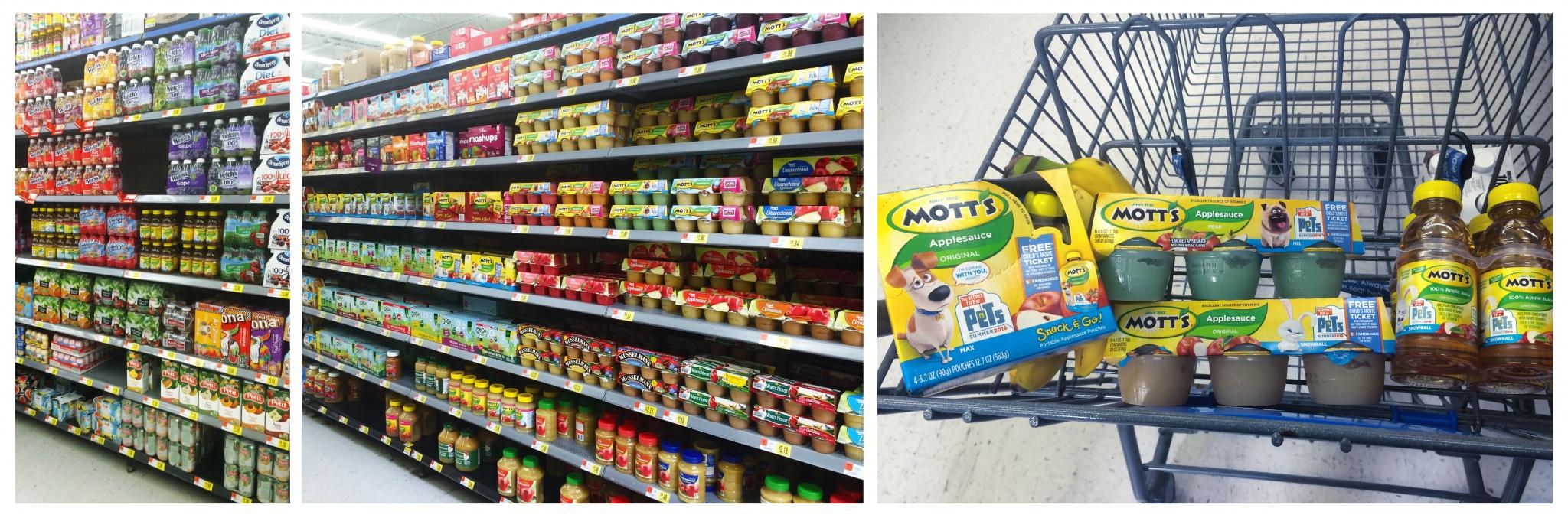 Mott's at Walmart