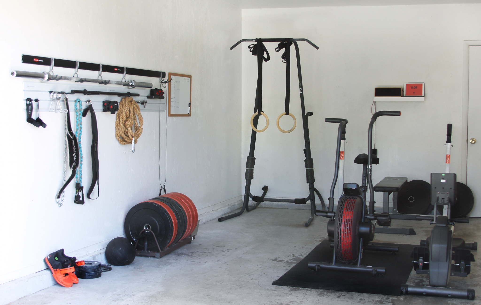 Easy steps for turning your garage into a gym growing