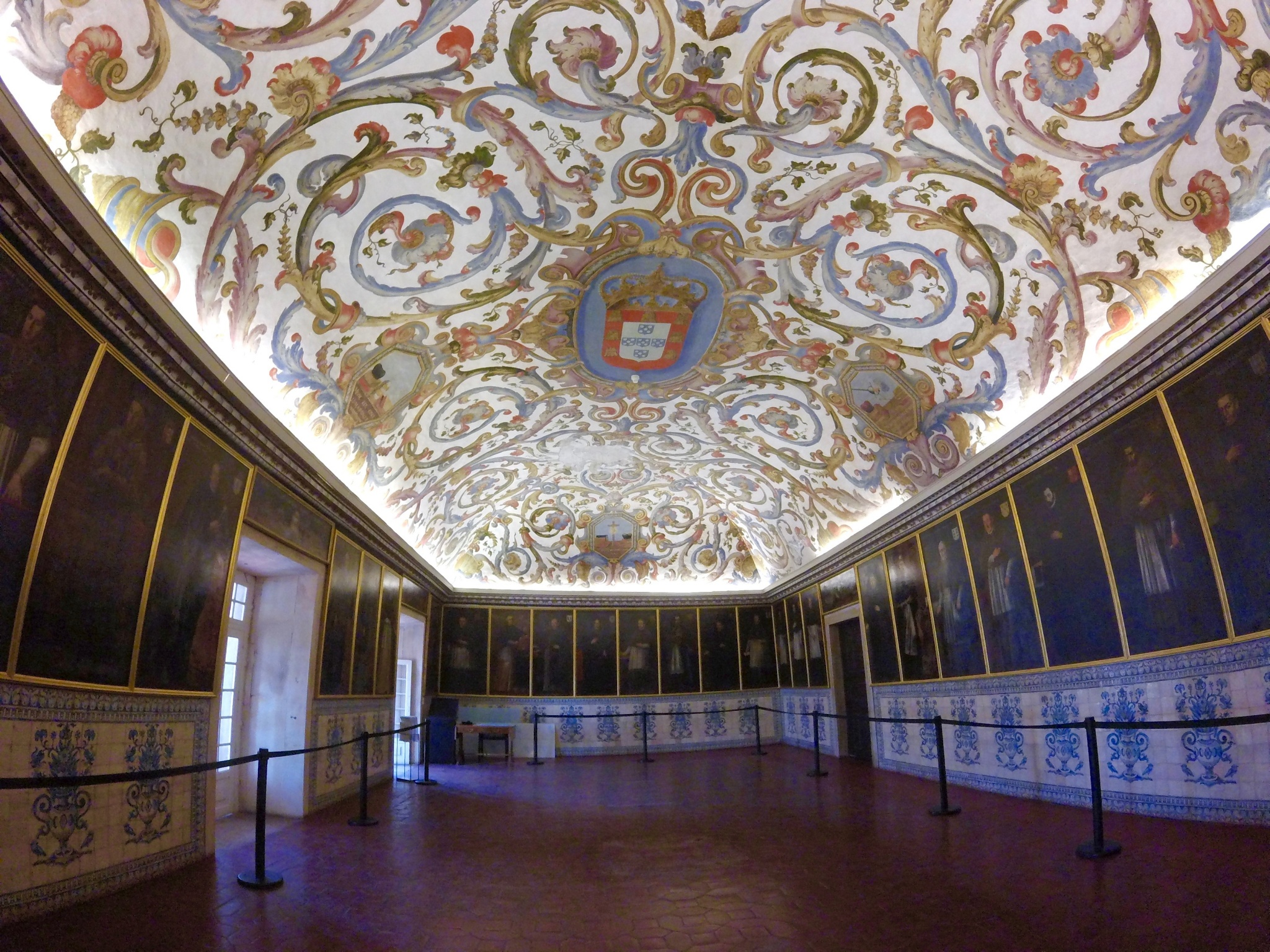 The Royal Palace of Alcáçova's Sala dos Capelos