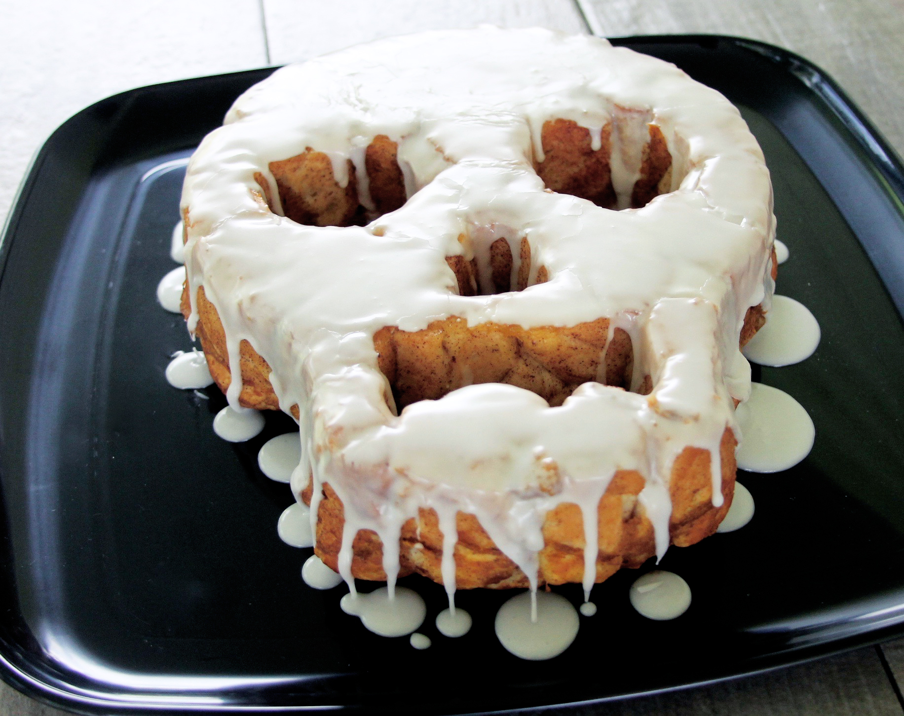 Day of The Dead Skull Pull-Apart Pumpkin Bread