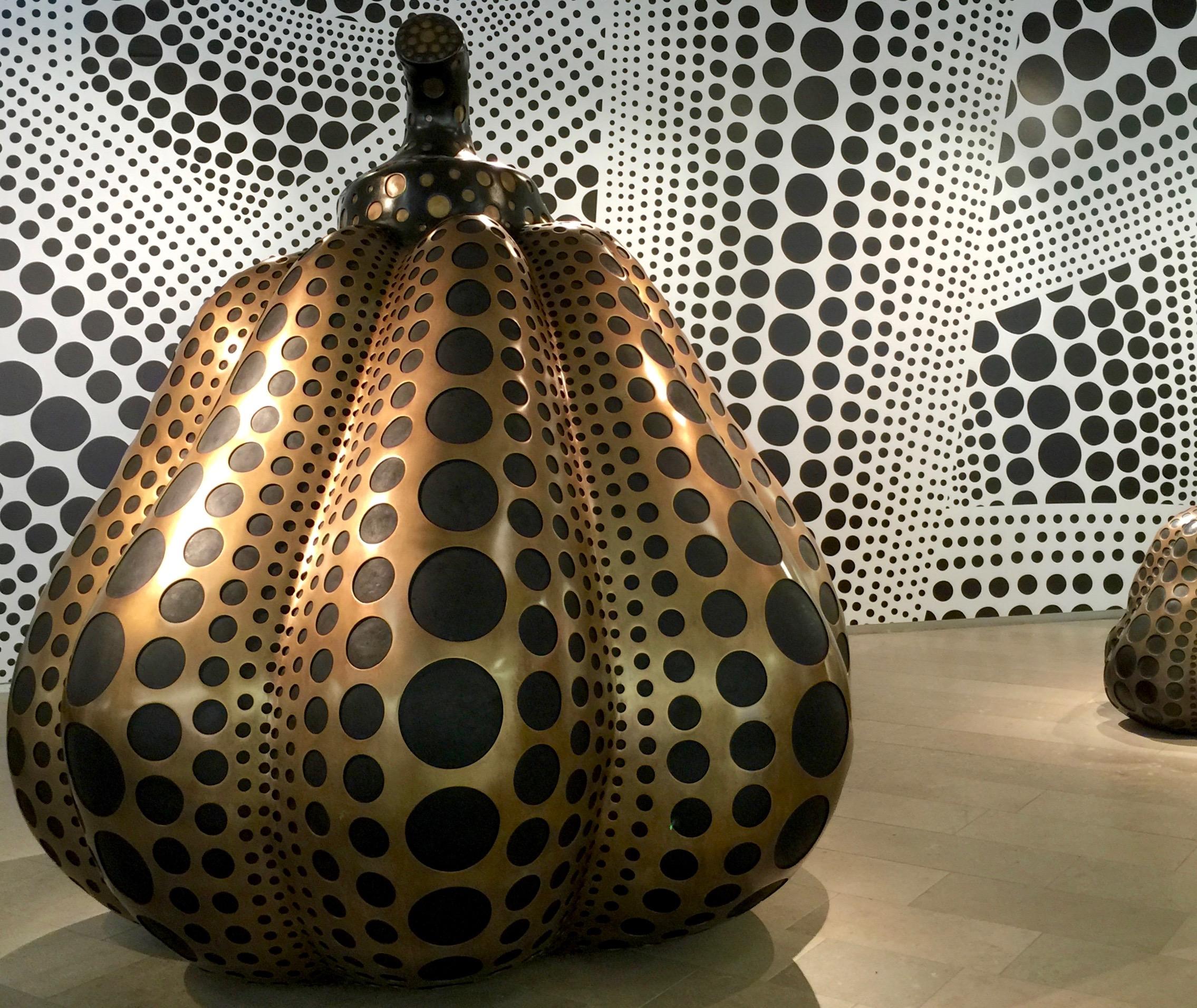 Yayoi Kunama exhibit at the Moderna Museet in Stockholm