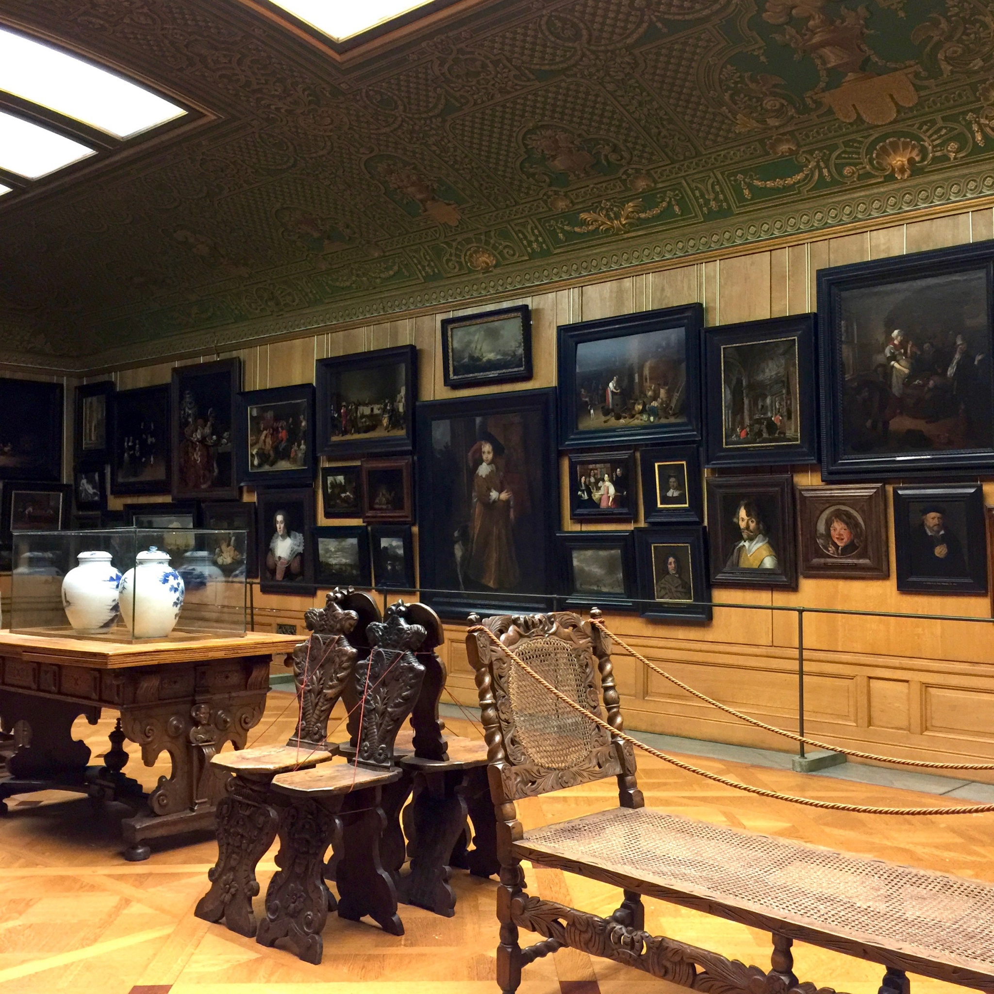 Hallwyl Museum's collection of old Dutch and Flemish paintings