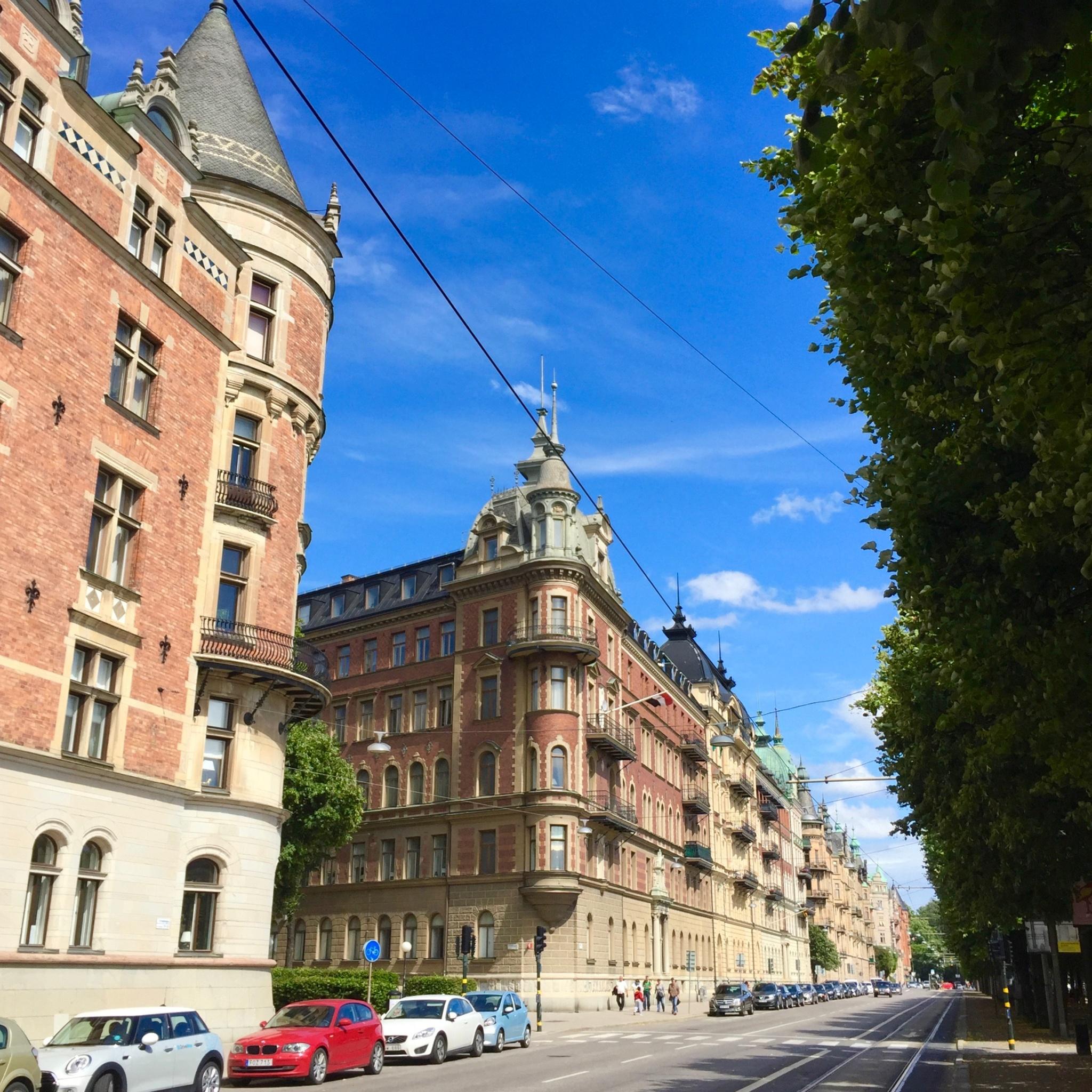 Ostermalma, Strandvägen street in Stockholm