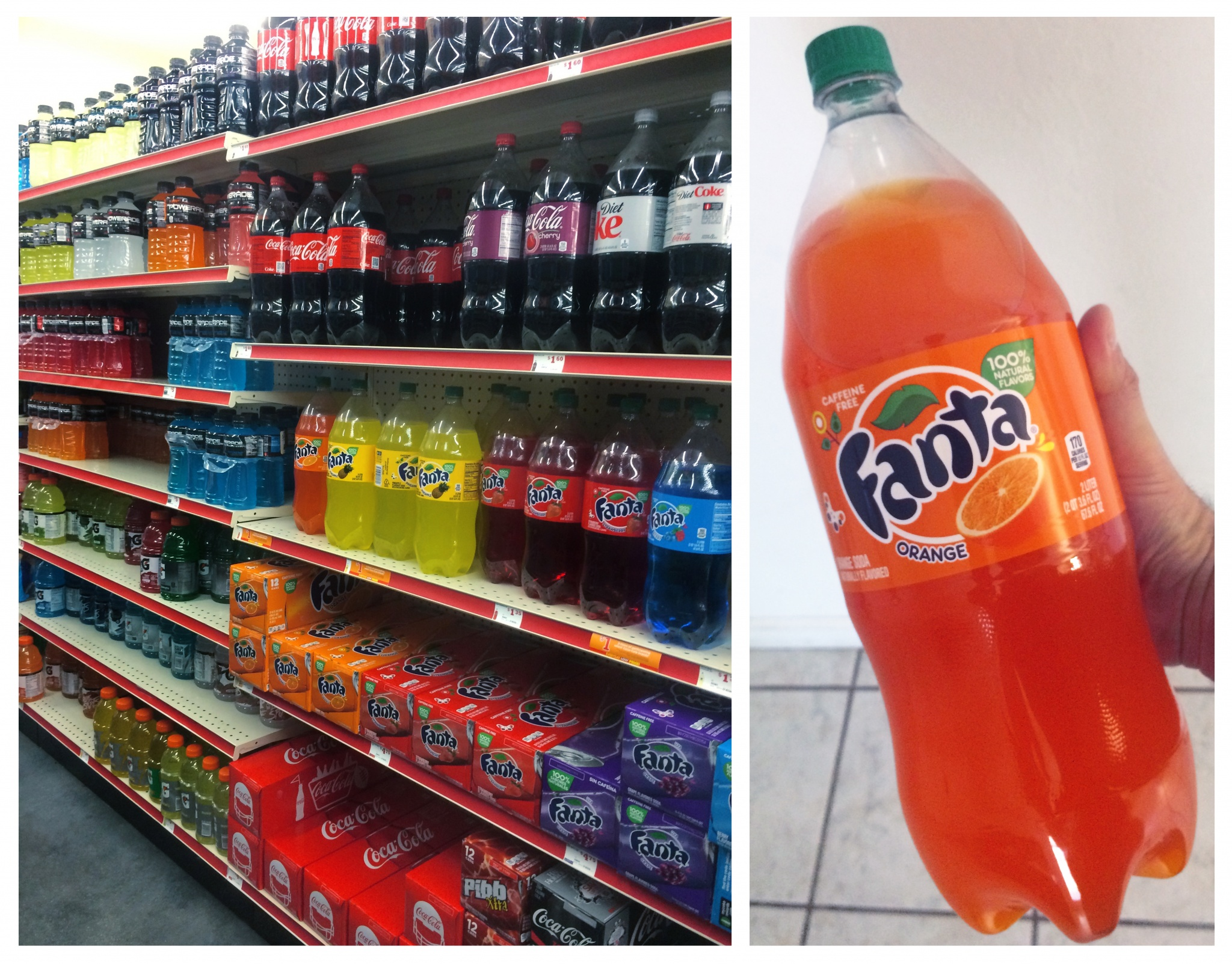 FANTA at family Dollar