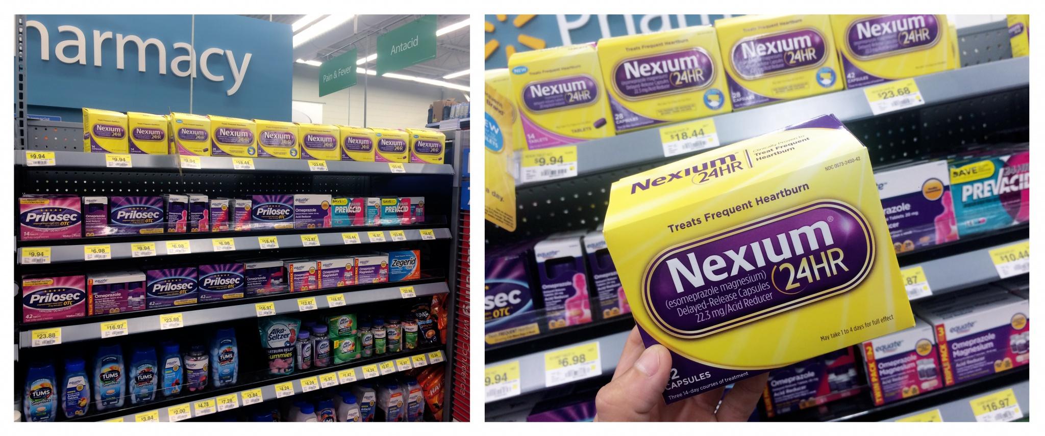 Walmart-Nexium