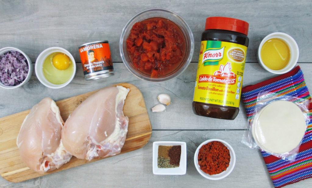 Crockpot Chicken Tinga Empanadas