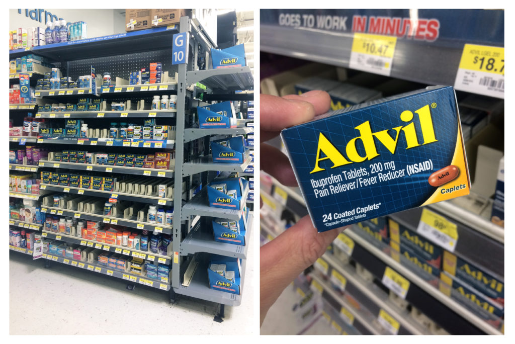 Advil-walmart