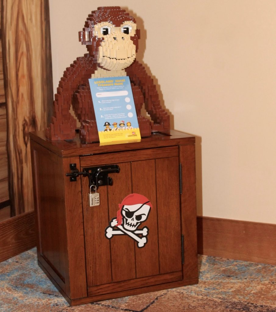 Legoland hotel treasure chest