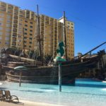 Lake Buena Vista Resort Village and Spa pirate ship pool