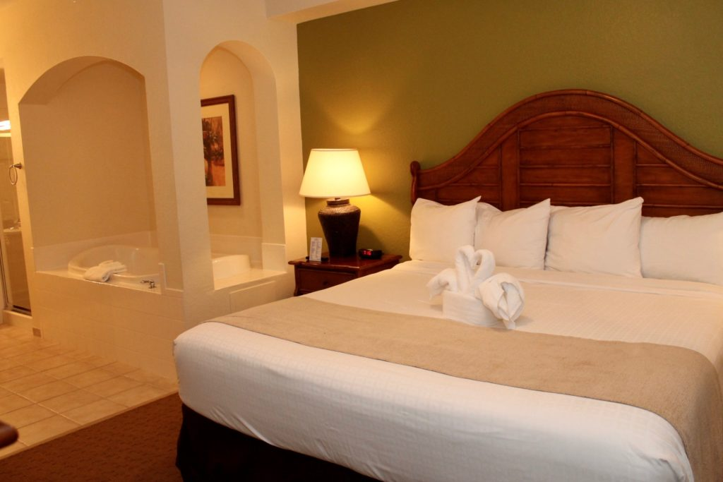 The Lake Buena Vista Resort Village and Spa suite