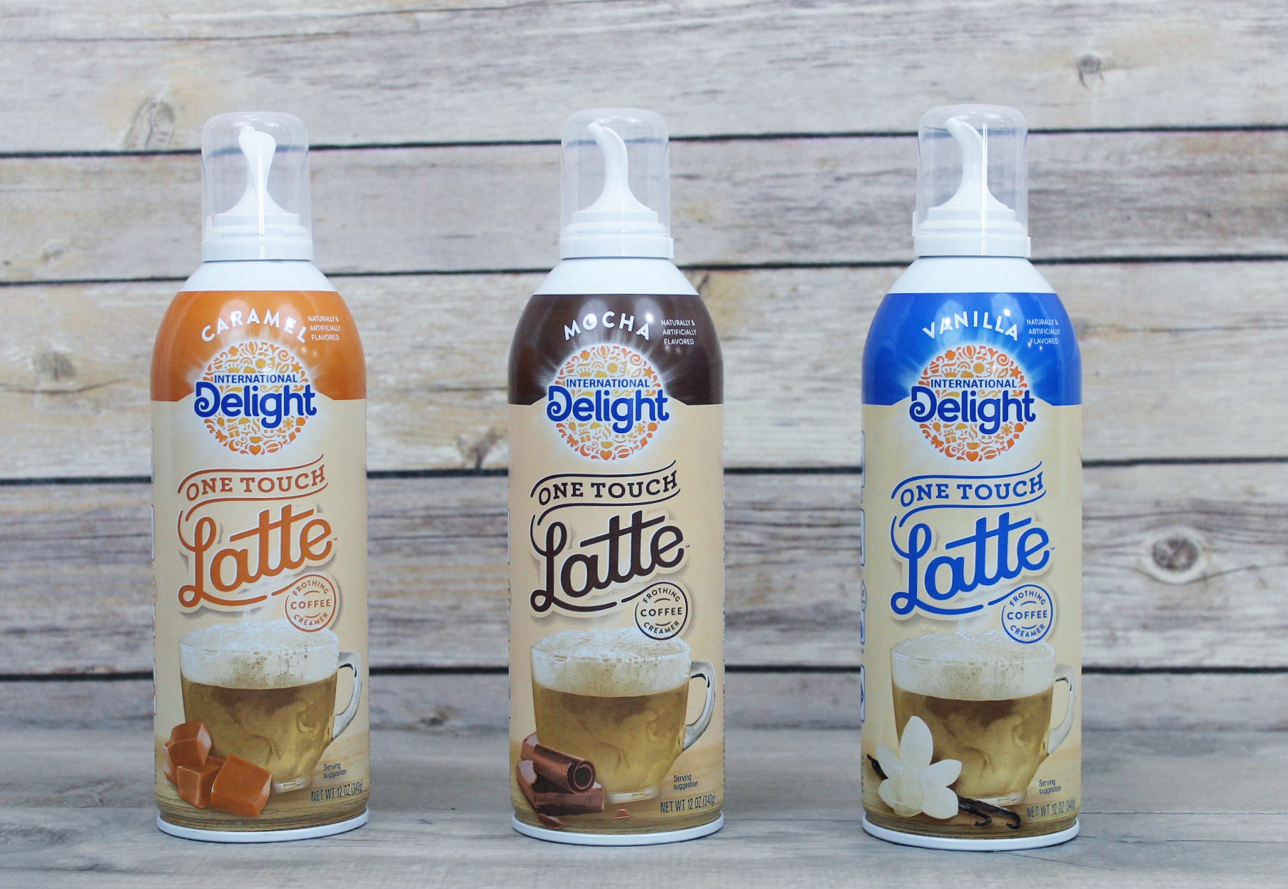 one touch latte delight