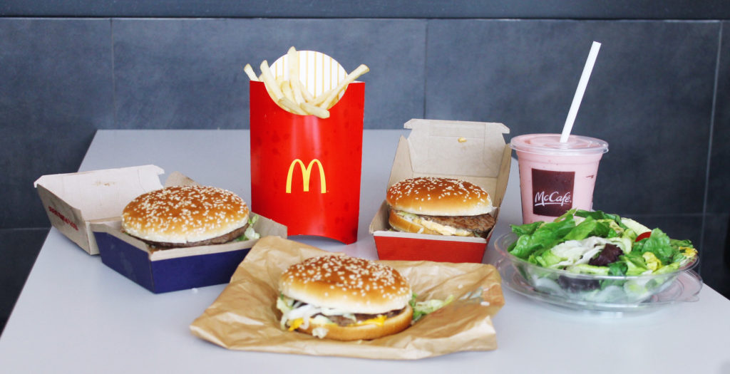 McDonald's Big Mac burgers