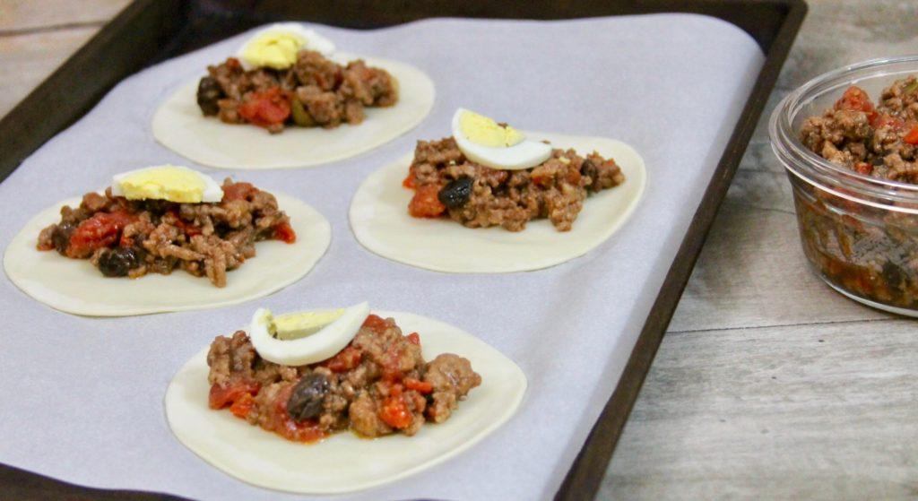 lamb and beef baked empanadas