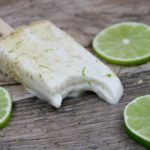 vegan key lime pie popsicles