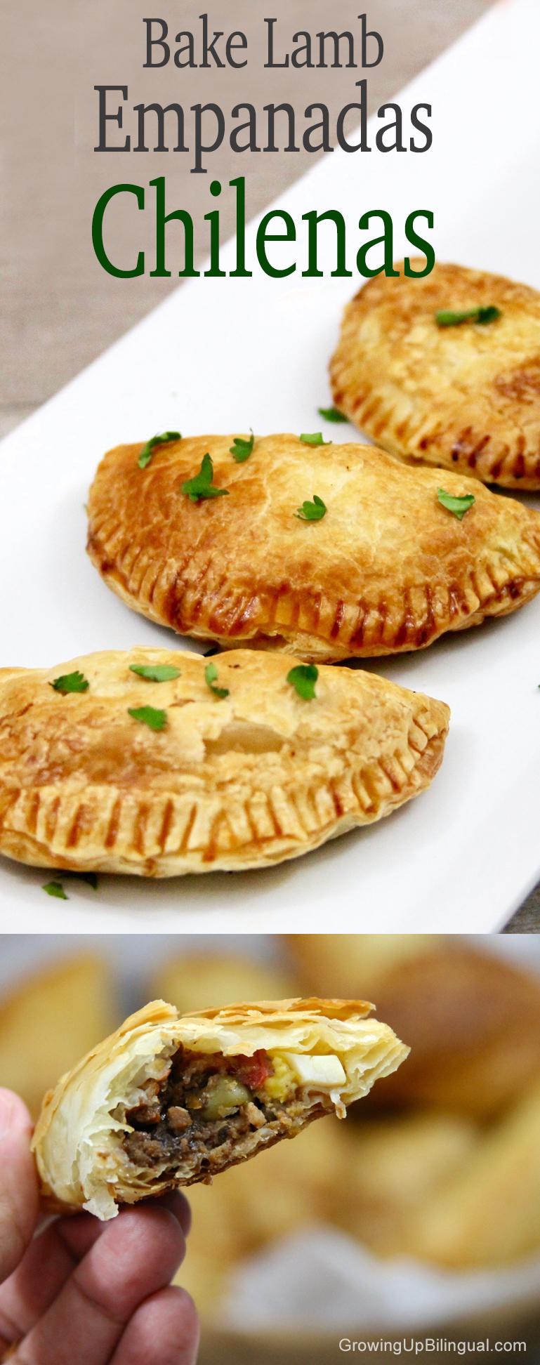 Baked Lamb Empanadas Chilenas