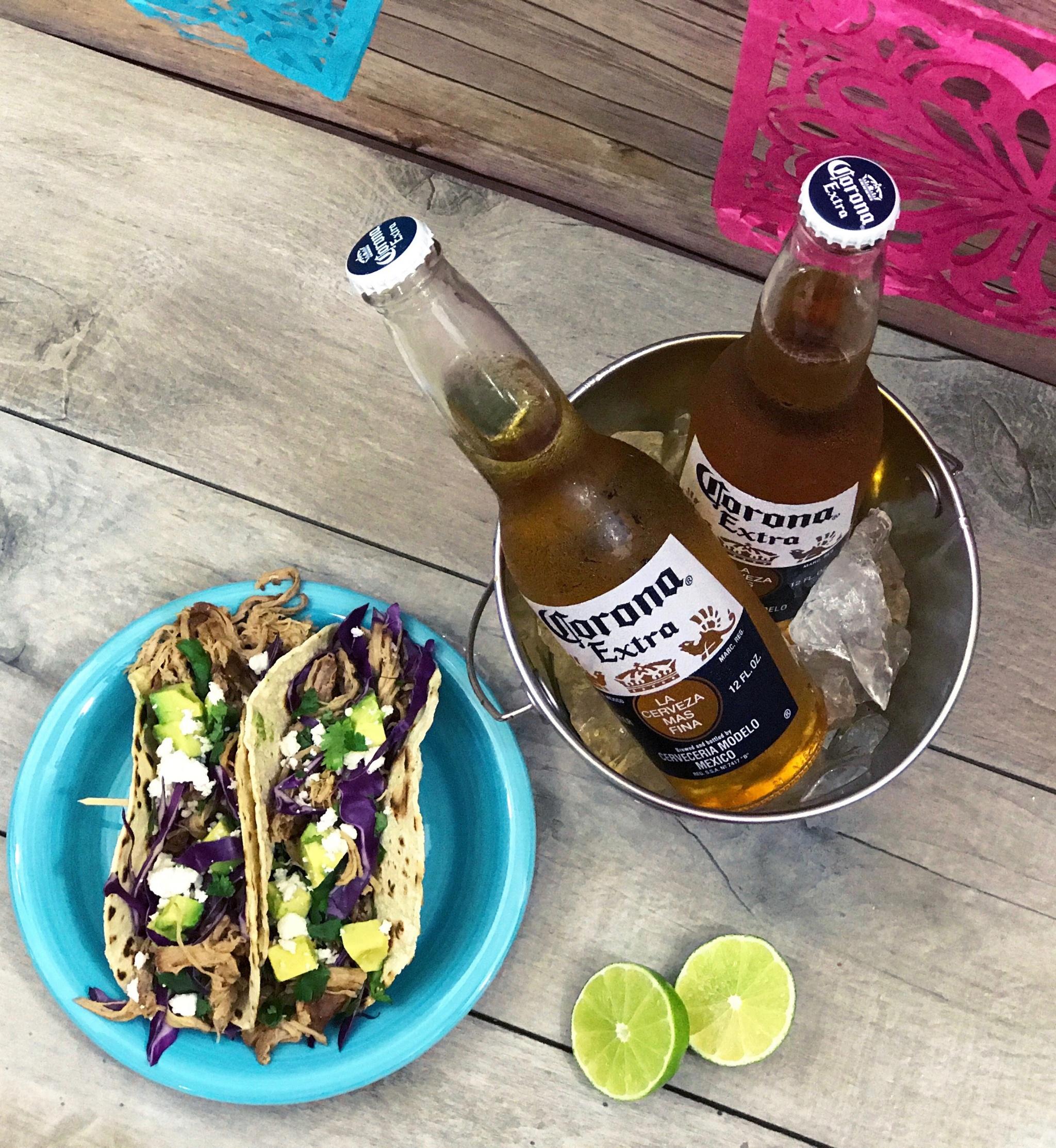 Mango Beer Chelada And Mango Beer Braised Tacos