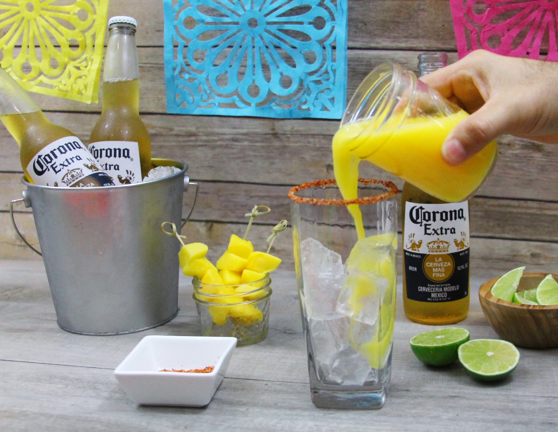 Mango Beer Chelada