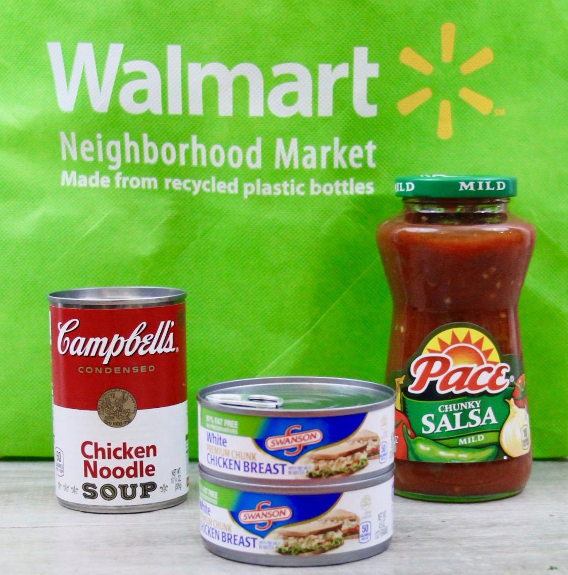 Campbells products at Walmart