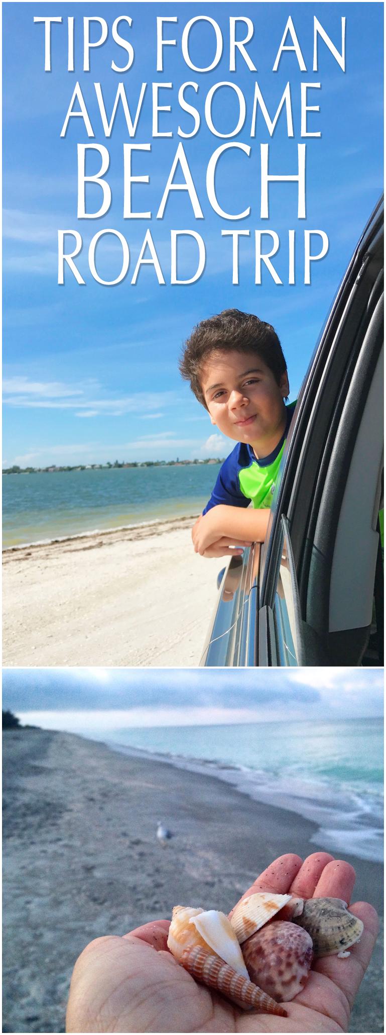 beach road trip tips