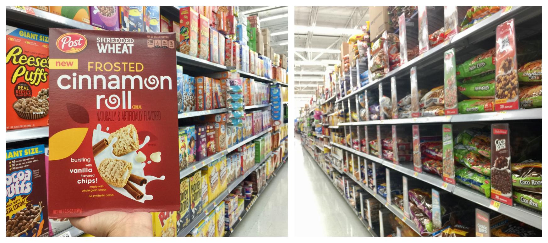 post cereal al Walmart