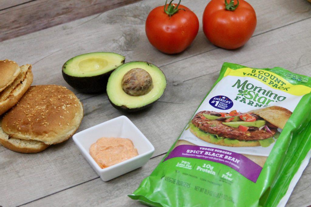 Chipotle Black Bean Burgers With Avocado